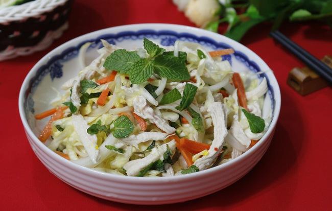 Gỏi gà bắp cải làm rất nhanh ăn lại ngon cực kỳ - Ảnh 4