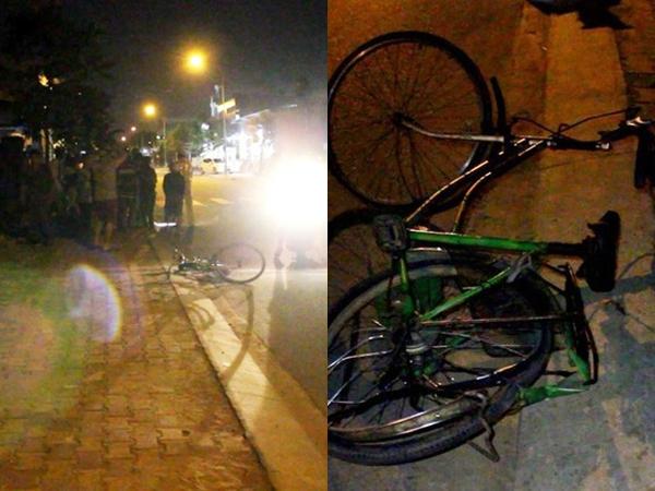 Thương tâm ba mẹ con đạp xe bán vé số bị ô tô tông nguy kịch trong đêm