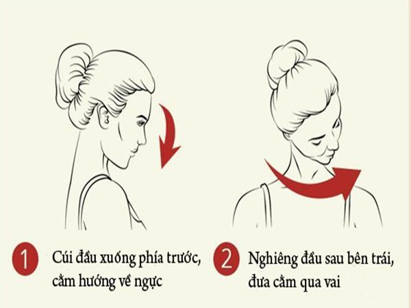 Bài tập đơn giản giúp chống nhăn vùng cổ, giảm đau vai gáy