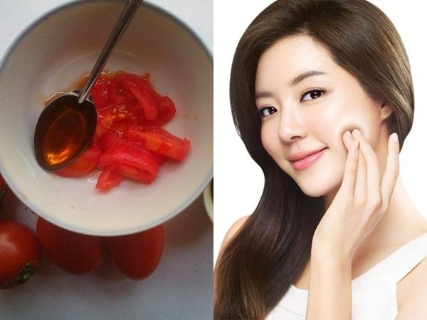 1 quả cà chua chín - 3 cách điều trị dứt điểm mụn trứng cá, dưỡng da trắng hồng rạng rỡ, không tì vết