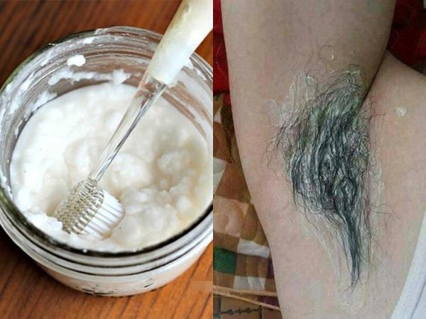 Chẳng cần dùng nhíp nhổ đau rát, trộn muối với kem đánh răng rồi thoa lên nách, lông tự rụng không còn 1 cọng, hết thâm đen lẫn mùi hôi dai dẳng