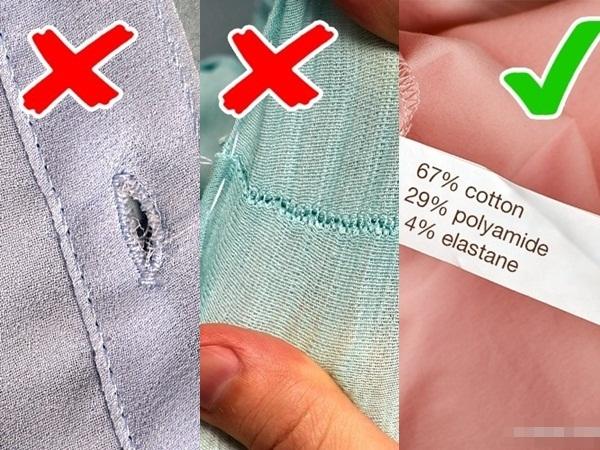 Gần Tết phải mua sắm nhiều quần áo, phụ nữ cần biết 10 bí kíp nhận biết đồ kém chất lượng này