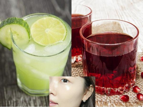 Quanh năm chẳng dùng đến lọ kem dưỡng nào nhưng da mặt vẫn căng hồng, khỏe đẹp nhờ uống 5 loại nước ép 'thần kỳ' này