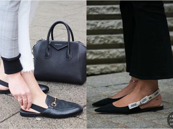 Đi giày gì khi đã chán giày cao gót?