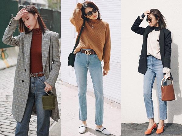 Diện quần jeans đi làm quả thực thú vị, nhưng mặc sao cho đúng chất công sở thì bạn cần nhớ 3 công thức sau