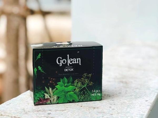 FDA cảnh báo hai chất cấm nguy hiểm có trong trà giảm cân Golean Detox