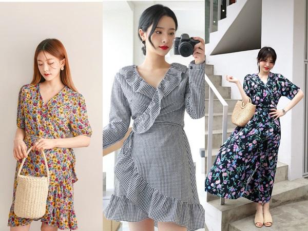 Hè này đúng là phải mặc váy quấn, vì chọn kiểu gì thì nhìn cũng xinh xắn và dễ thương