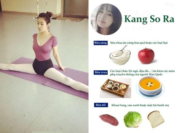 Kang So Ra tiết lộ thực đơn giúp giảm từ 72 kg xuống còn 48 kg