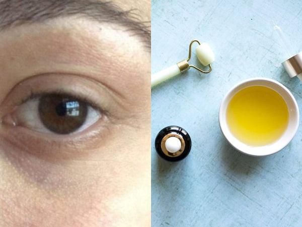 Nếu chưa đủ tiền mua kem dưỡng chuyên dụng, bạn hãy mua loại dầu này để trị quầng thâm mắt