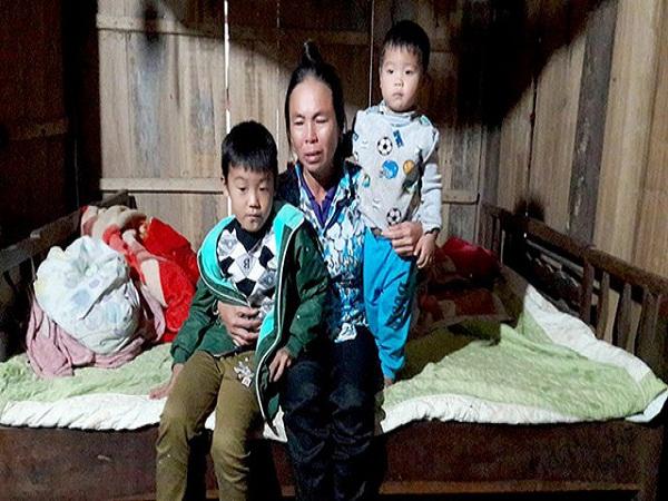 Cha tử nạn trong hỏa hoạn ở Đài Loan, 2 con nhỏ nơi quê nhà ngơ ngác trước mất mát của tình phụ tử
