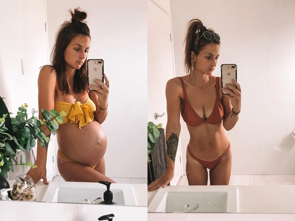 Nữ y tá 25 tuổi lấy lại vóc dáng như thời còn son chỉ sau 4 tuần sinh nở