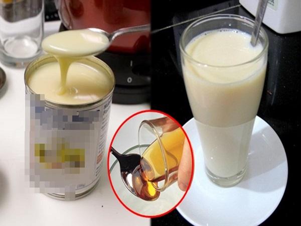 Uống sữa đặc pha với thứ này mỗi sáng, da đen nhẻm, đầy mụn hóa trắng mịn, không tì vết cực nhanh