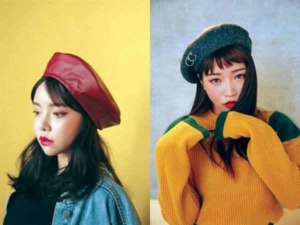 Phong cách với mũ mùa đông