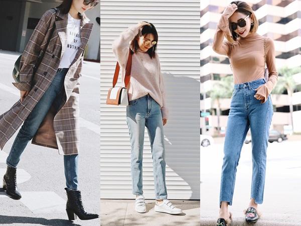 Quanh năm suốt tháng diện quần jeans thì các nàng phải học ngay 4 tips mặc chuẩn đẹp lại giúp kéo dài chân cả tấc này