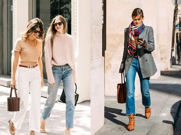 Quên kiểu quần jeans bó giò đi, đây mới là mốt jeans thống trị 2019