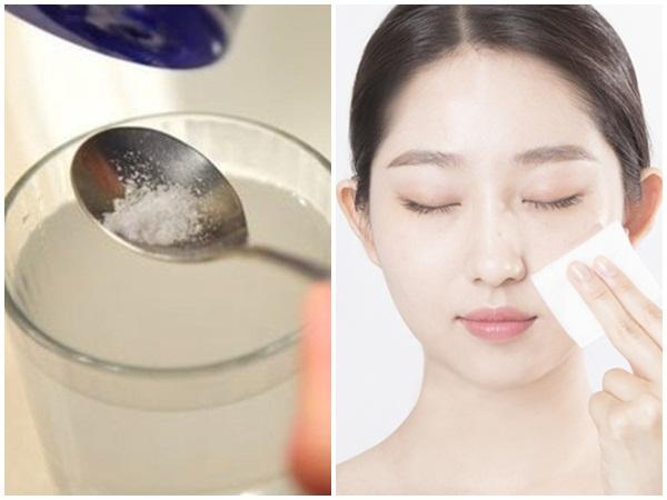 Pha nước muối ấm theo cách này rửa mặt 2 lần/ngày, mụn nhiều cỡ nào cũng trị dứt điểm, làn da mịn màng, căng mướt