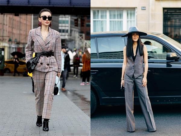10 cách mặc suit công sở mới mẻ dành cho phái đẹp