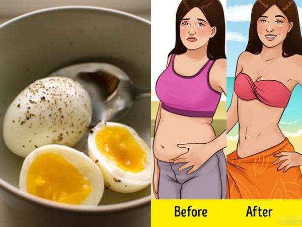 Ăn trứng luộc mỗi ngày theo thực đơn này, muốn giảm bao nhiêu cân cũng được