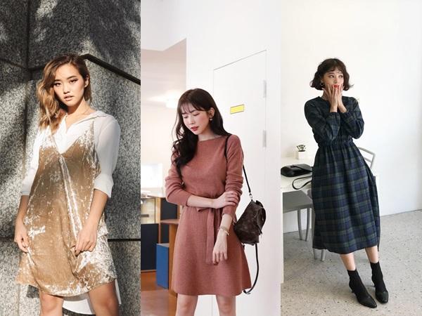 Tranh thủ sắm 4 mẫu váy liền dày dặn này để đông năm nay tha hồ diện từ sở làm tới bàn tiệc