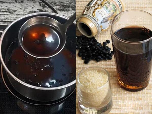 Nấu vài hạt đậu đen rang với nước nóng để uống mỗi sáng, da dẻ hồng hào, mịn màng bất chấp nắng nóng oi bức mùa hè
