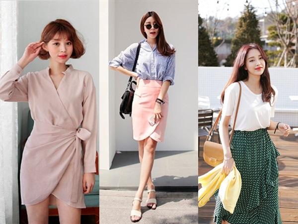 Wrap skirt - món đồ mới nổi nhưng hút chị em tìm kiếm mùa cuối năm