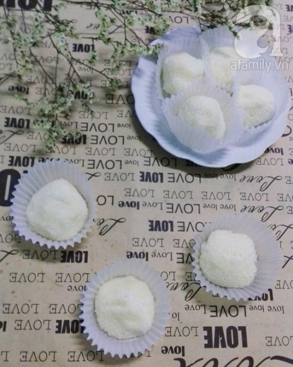 Tự làm chocolate truffle vị dừa tặng người thương dịp Valentine - Ảnh 5