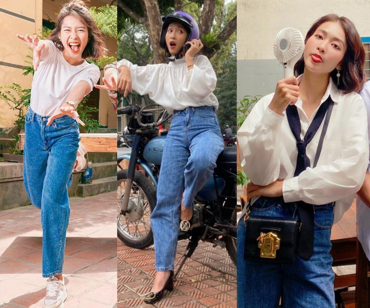 Khả Ngân lên đồ cao tay trong 11 Tháng 5 Ngày: Mặc lại đồ cũ, style thú vị hơn cả mẫu hãng - Ảnh 1