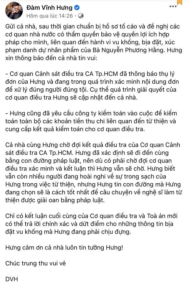 NÓNG: Đại diện nghệ sĩ Hoài Linh xác nhận đã gửi đơn tố cáo bà Phương Hằng, khẳng định bị vu khống 'lấy tiền quyên góp chi việc riêng' - Ảnh 3