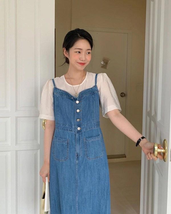 Tiết lộ công thức diện đồ Denim chuẩn gái Hàn, xinh hết nấc, nàng thử ngay kẻo lại tiếc hùi hụi - Ảnh 2