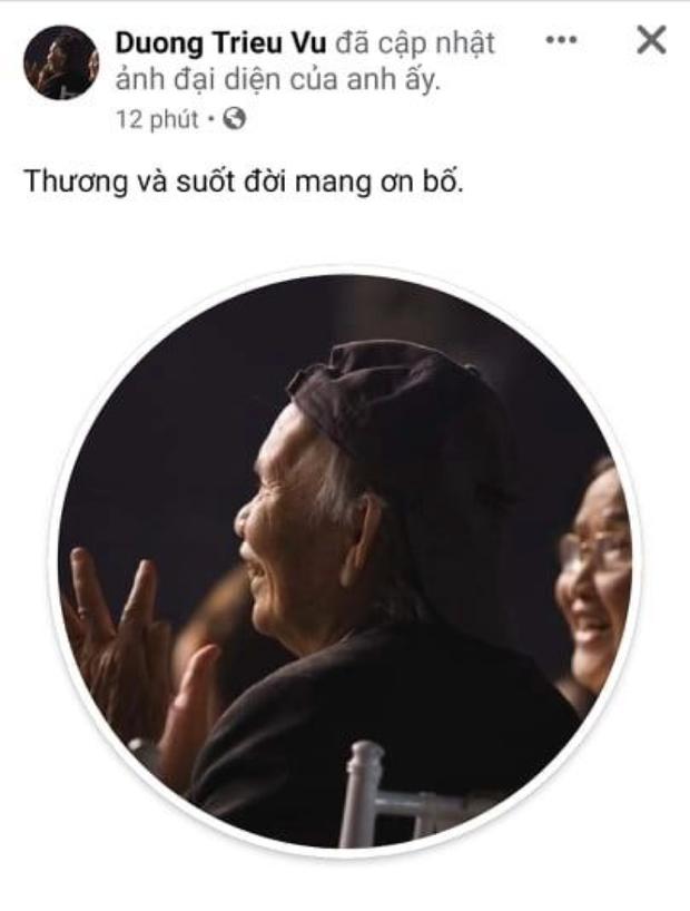 Dương Triệu Vũ thông báo tang sự cho cha, con trai ruột NS Hoài Linh có động thái mới khi hay tin ông nội mất - Ảnh 2