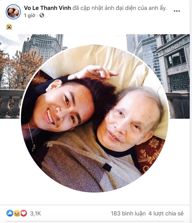 Dương Triệu Vũ thông báo tang sự cho cha, con trai ruột NS Hoài Linh có động thái mới khi hay tin ông nội mất - Ảnh 3