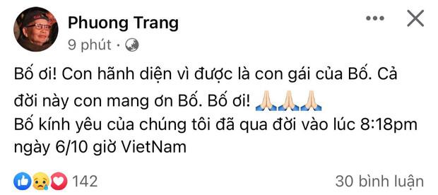 Dương Triệu Vũ thông báo tang sự cho cha, con trai ruột NS Hoài Linh có động thái mới khi hay tin ông nội mất - Ảnh 1