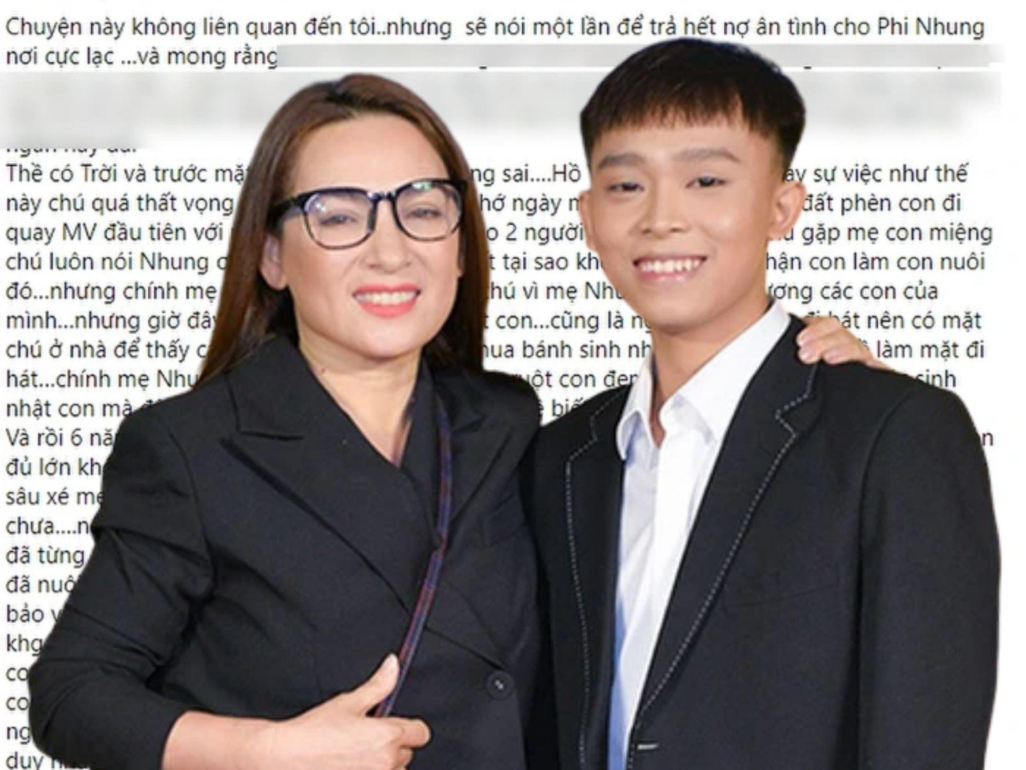Bạn thân cố NS Phi Nhung lên tiếng trách móc Hồ Văn Cường: 'Phi Nhung đã sai khi nhận con làm con nuôi'
