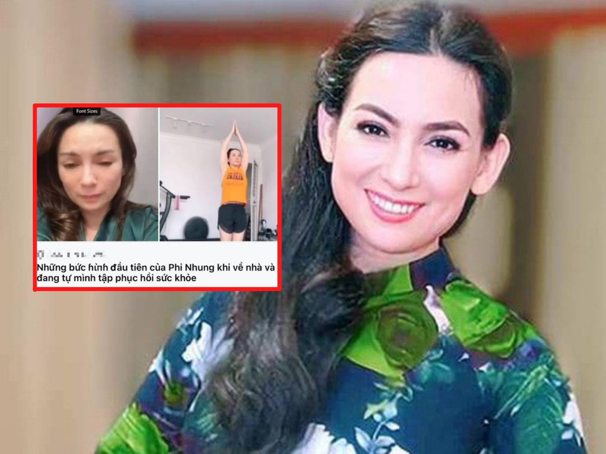Bạn thân Phi Nhung lên tiếng xác minh sự thật thông tin nữ ca sĩ đã bình phục và xuất viện