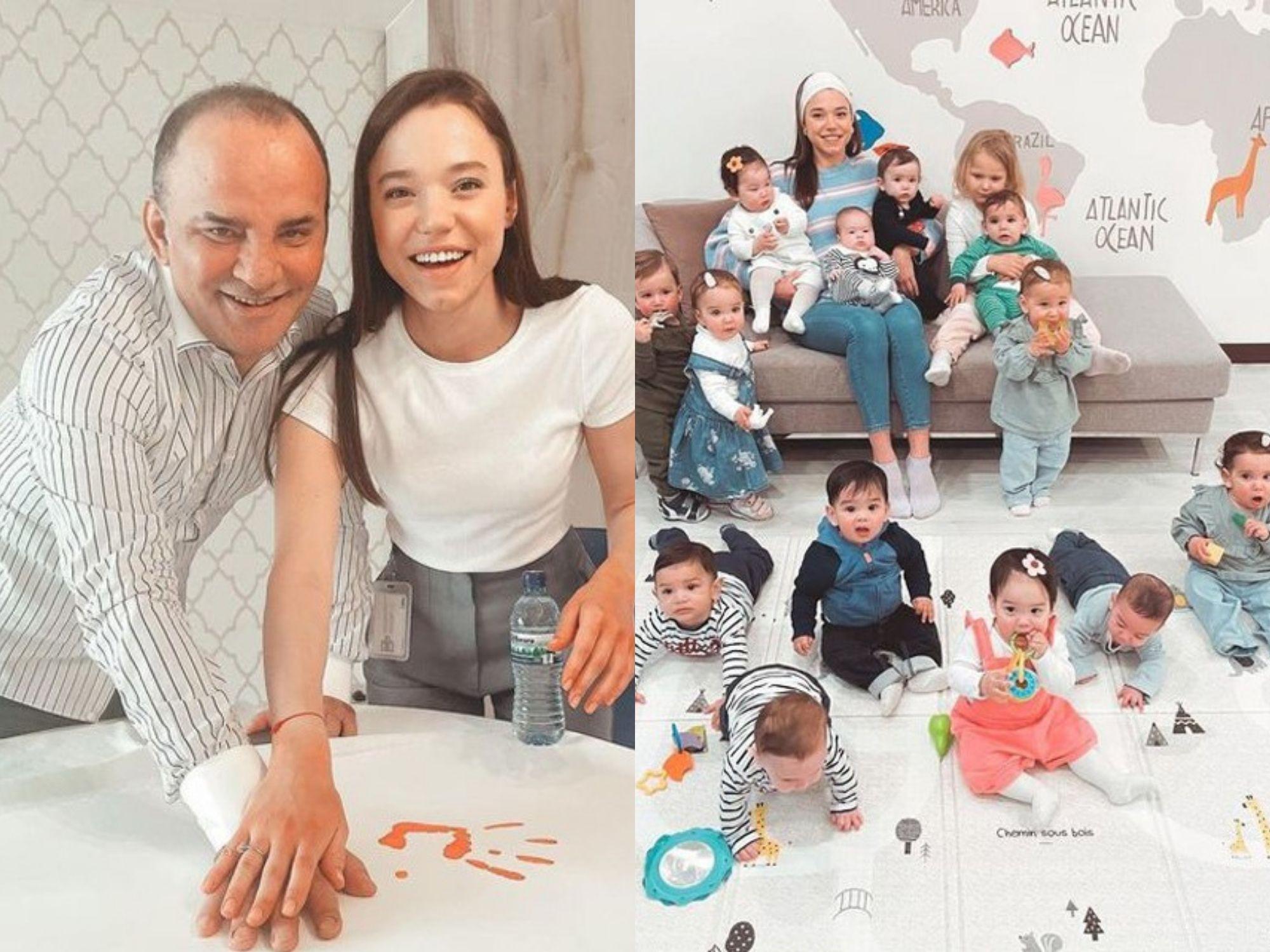 Sốc: Cô gái 23 tuổi sinh 21 đứa con cho người chồng đại gia đã có 9 con riêng, tương lai mong muốn tăng chỉ số lên 105