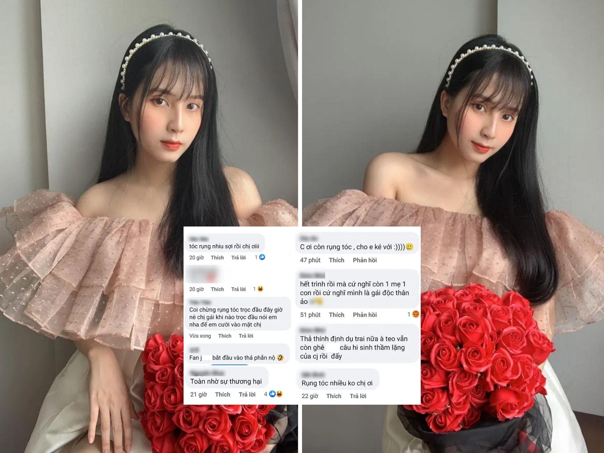 Khoe nhan sắc rực rỡ khi làm mẹ, Thiên An bị fan 'người nào đó' tấn công, cho rằng đang 'kiếm mối' dù đã là gái 1 con