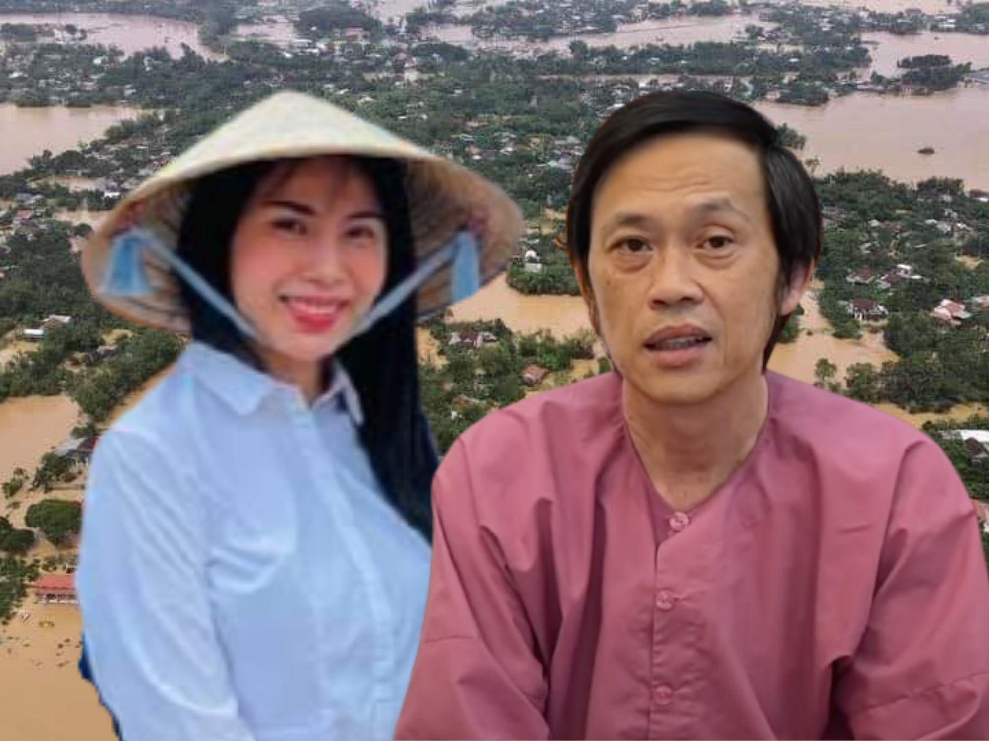 Thủy Tiên và Hoài Linh làm từ thiện như thế nào ở Hải Lăng, Quảng Trị?