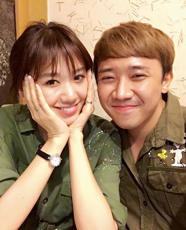 Hari Won đã 'vỗ béo' Trấn Thành từ cằm V-line thành 'mặt nọng' thế nào? - Ảnh 17