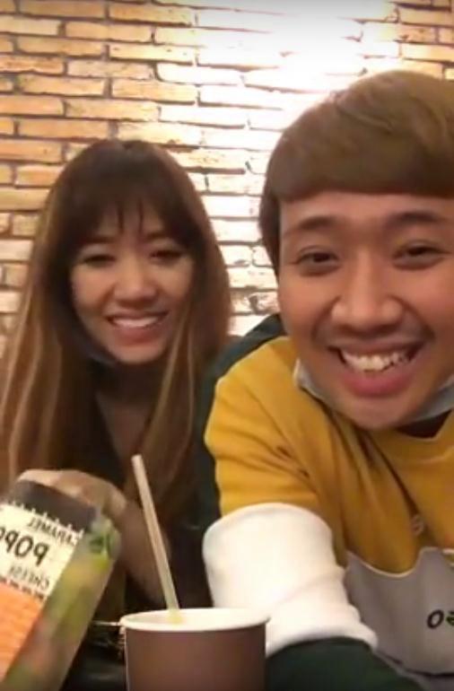 Hari Won đã 'vỗ béo' Trấn Thành từ cằm V-line thành 'mặt nọng' thế nào? - Ảnh 18