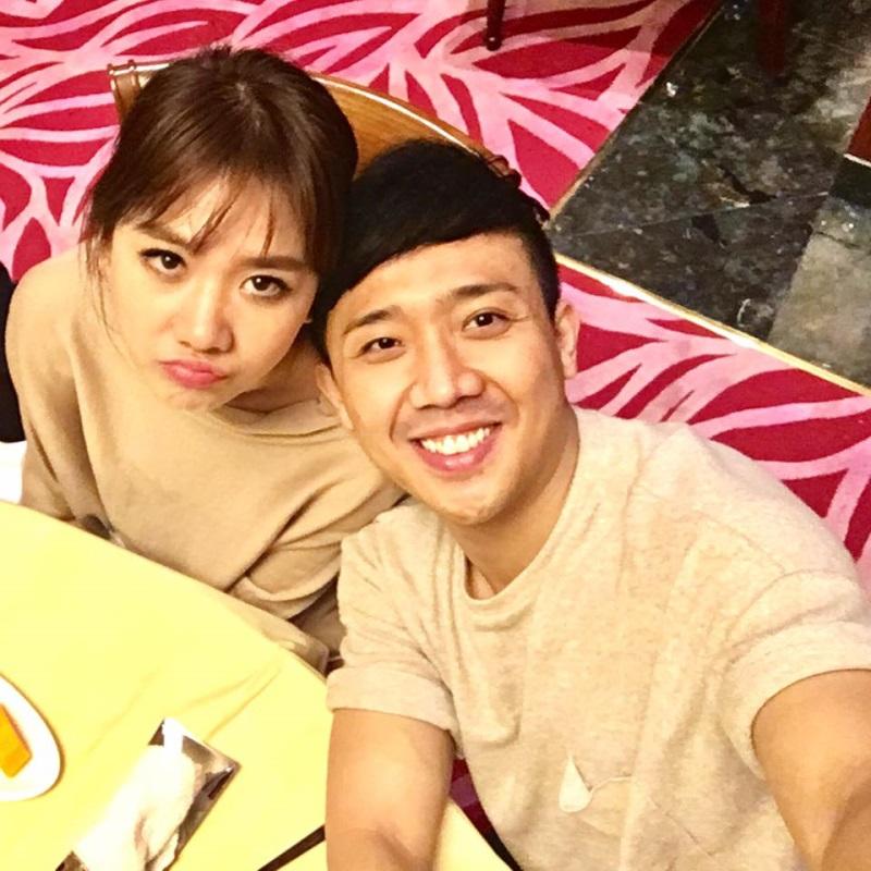 Hari Won đã 'vỗ béo' Trấn Thành từ cằm V-line thành 'mặt nọng' thế nào? - Ảnh 7
