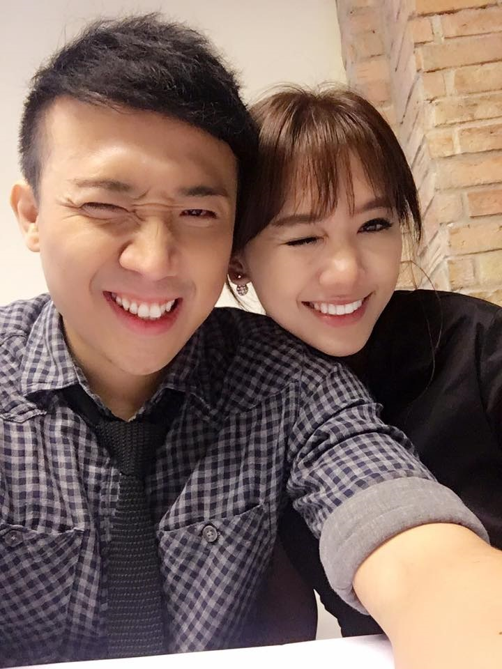 Hari Won đã 'vỗ béo' Trấn Thành từ cằm V-line thành 'mặt nọng' thế nào? - Ảnh 11