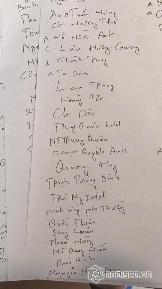 Hé lộ danh sách khách mời toàn sao hạng A tới dự đám cưới Khắc Việt - Ảnh 3