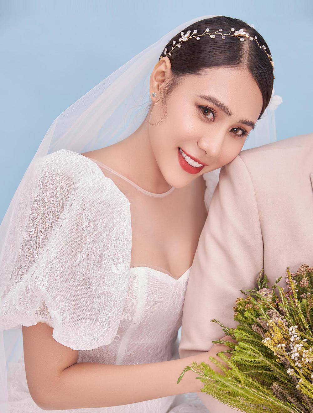 Hồ Bích Trâm tung ảnh cưới giấu mặt chú rể, CĐM đã nhanh chóng tìm ra danh tính - Ảnh 2