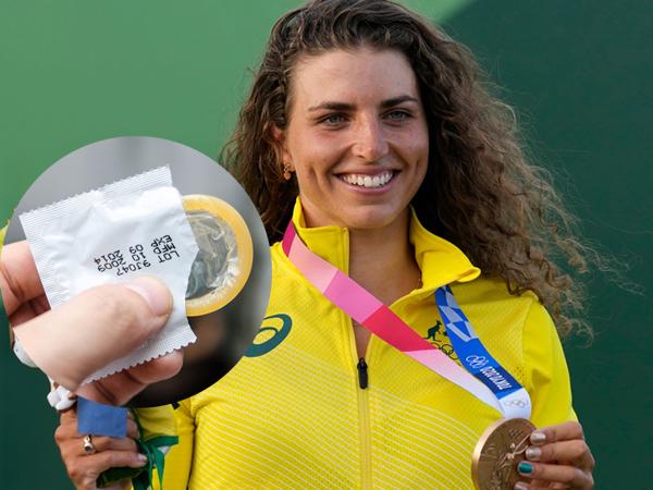 Hy hữu: Nữ VĐV bất ngờ giành huy chương tại Olympic Tokyo vì sử dụng chiếc... bao cao su kịp thời
