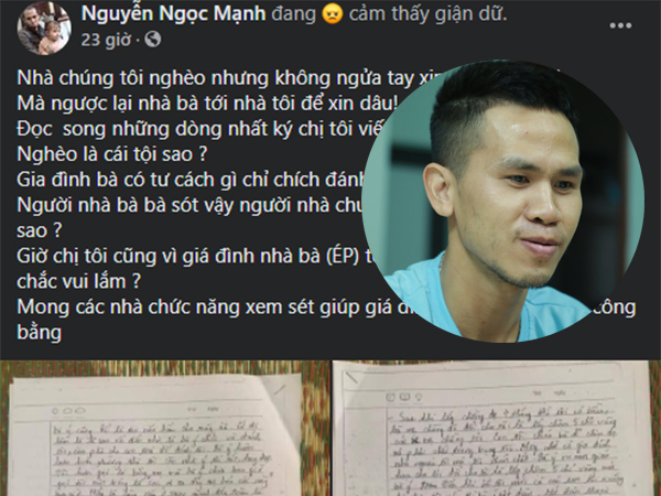 Trước khi quyên sinh, chị họ Nguyễn Ngọc Mạnh 'mất tích' bí ẩn vào ngày sinh nhật con 5 tuổi?