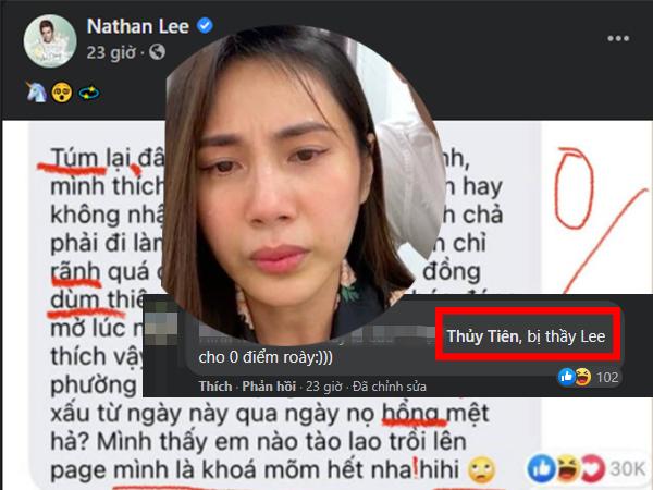 Thủy Tiên lại gây ra chuyện gì mà khiến 'ông hoàng drama' Nathan Lee thẳng tay cho điểm 0 vì 10 LỖI căng đét thế này?