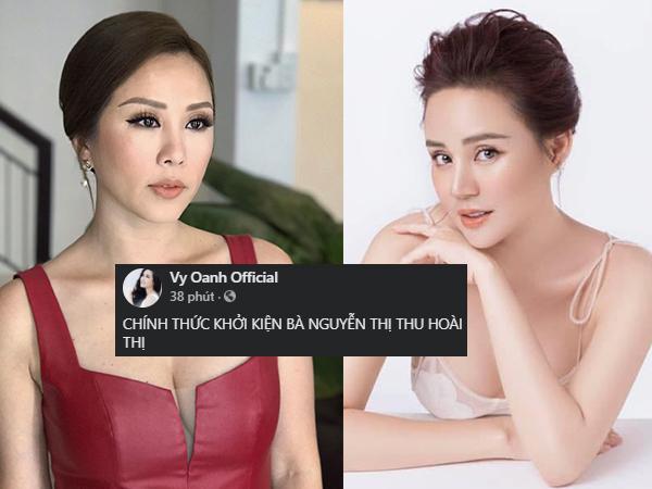 NÓNG: Sau vụ kiện bà Phương Hằng, Vy Oanh khởi kiện Hoa hậu Thu Hoài, tiết lộ 'giúp người người trả oán'