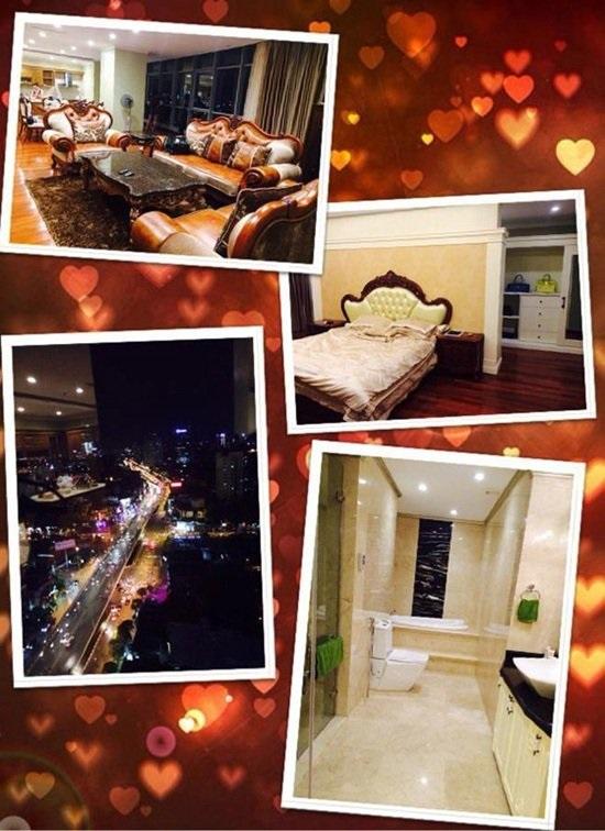 căn phòng của Hoàng Thùy Linh