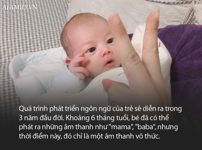 Biết gọi mẹ trước tháng tuổi này, em bé lớn lên sẽ rất thông minh - Ảnh 2