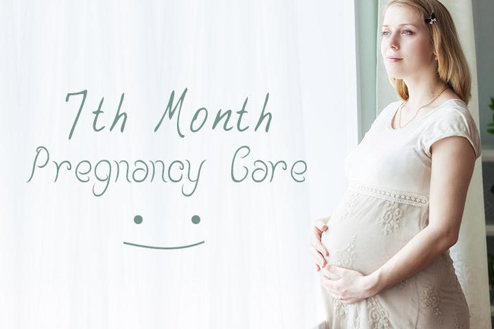 Mẹ cần chú ý những gì khi mang thai ở tháng thứ 7